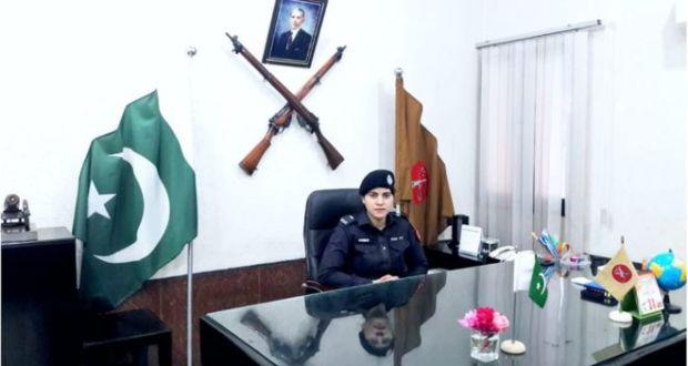 فرنٹیئر کانسٹبلری میں پہلی خاتون افسر حنا منور کی تعیناتی