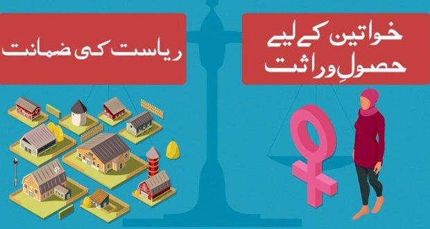 خواتین کو وراثت میں حق دلانے کا قانون آرڈیننس کے ذریعے نافذ کرنے کی منظوری