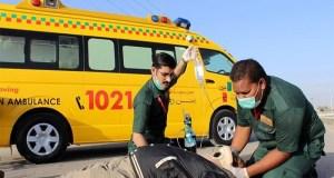 امن فاؤنڈیشن ایمبولینس سروس بند