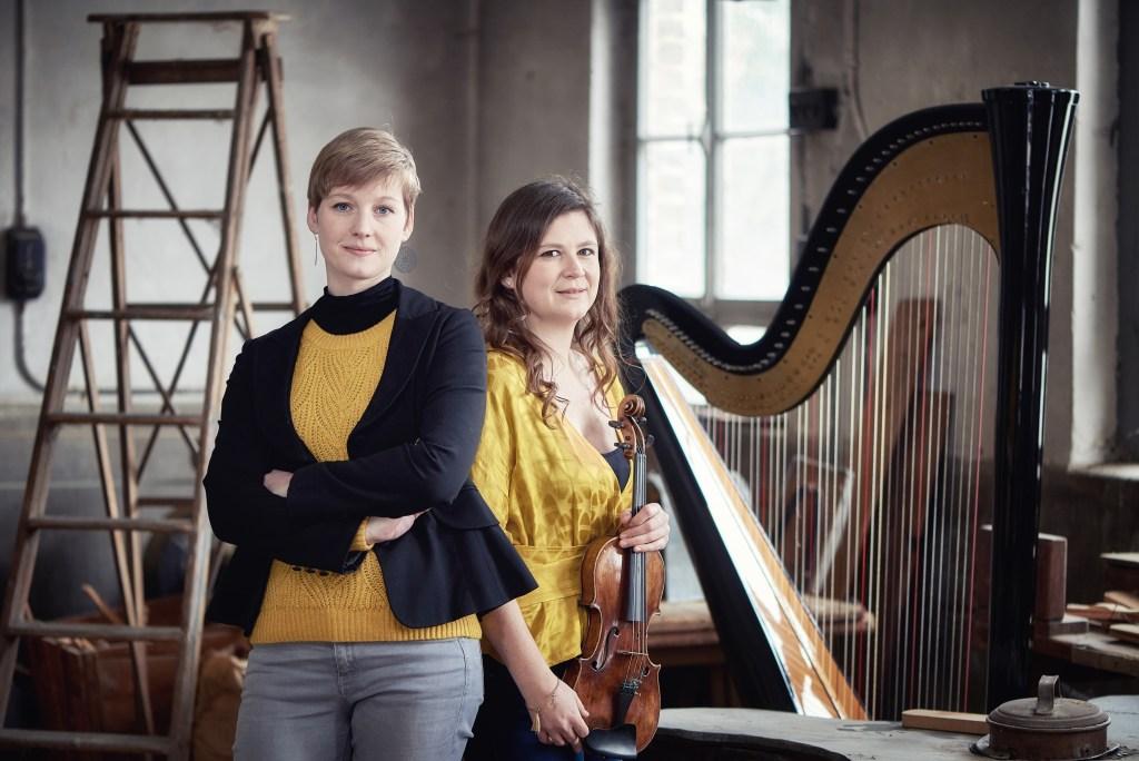 Duo-ambre Fanny Fuchs Anne Lombard violon + harpe