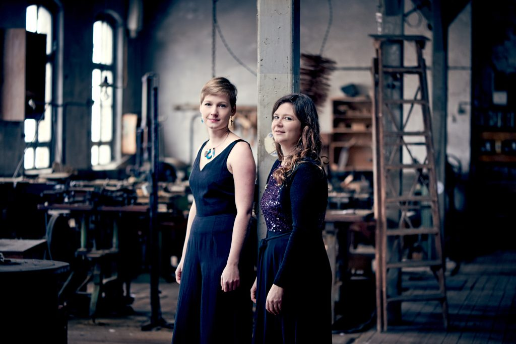Duo-ambre Anne Lombard et Fanny Fuchs
