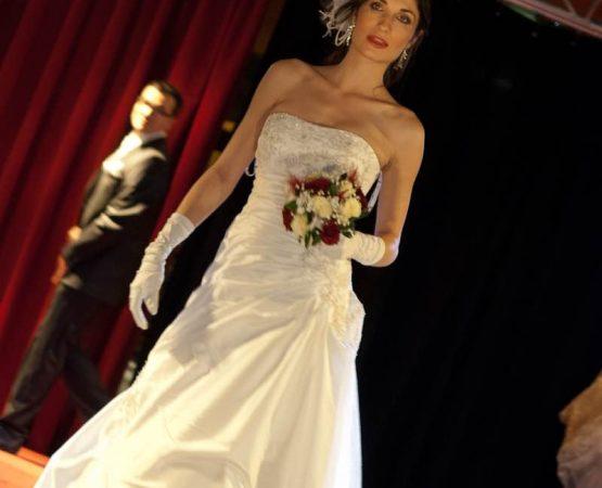 Evénement défilé de la mariée