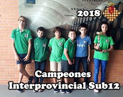 2018 Campeones Interprovincial Sub12