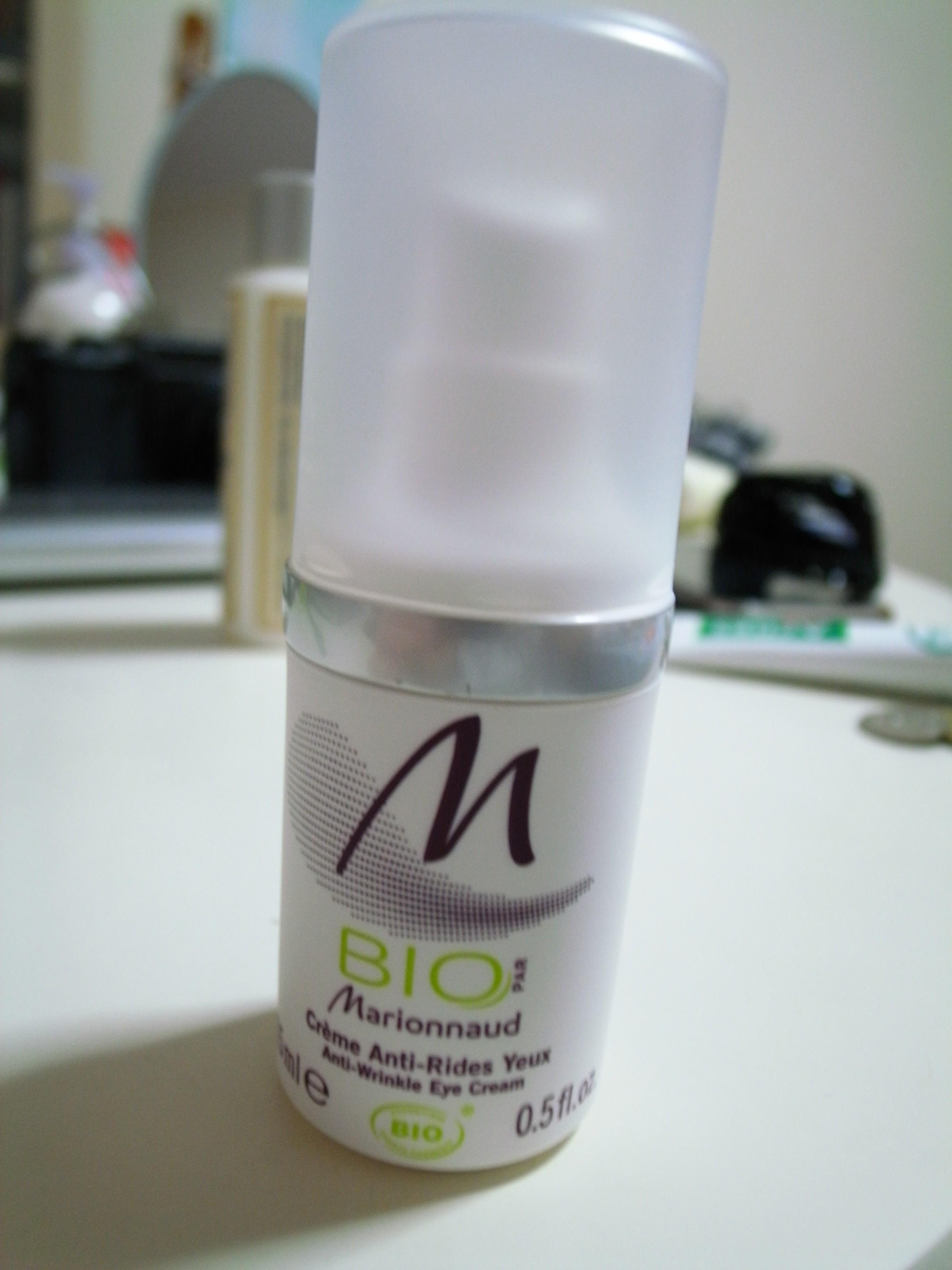 Bio Marionnaud 的 天然潤膚有機抗皺眼霜 (Anti-Wrinkle Eye Cream) | 朵兒Koffee