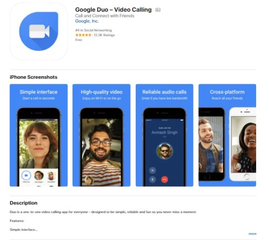 How to download Google Duo On iOS