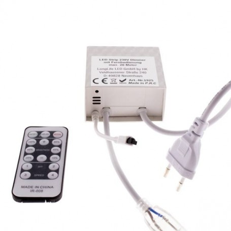 230V LED Strip Dimmer mit Fernbedienung