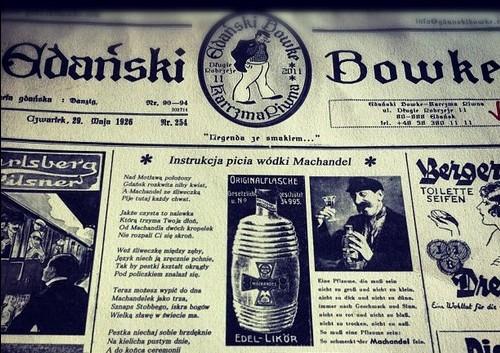 Gdański Bowke - nowa restauracja z tradycyjną polską i gdańską kuchnią na Długim Pobrzeżu nad Motławą