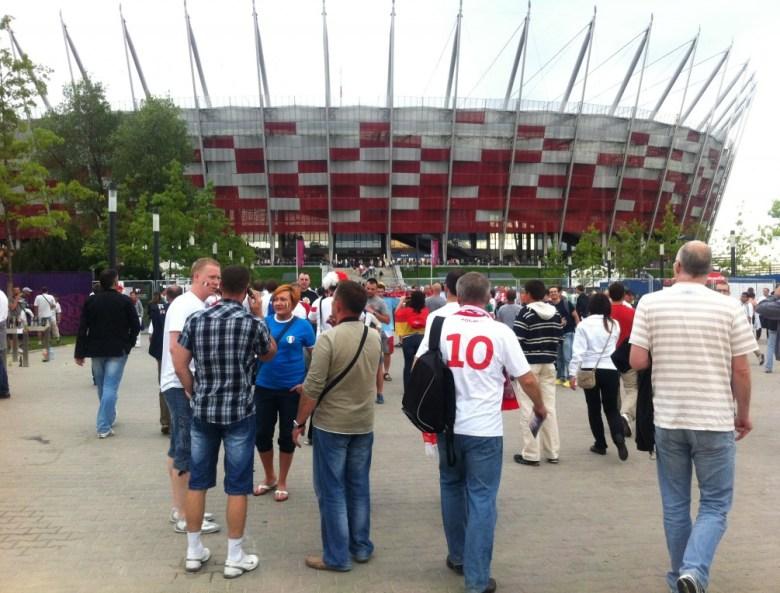 Nowa atrakcja turystyczna Warszawy. Zwiedzanie z przewodnikiem Stadionu Narodowego w Warszawie organizowane przez Narodowe Centrum Sportu