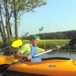 Spływ kajakowy na Kaszubach (wideo)