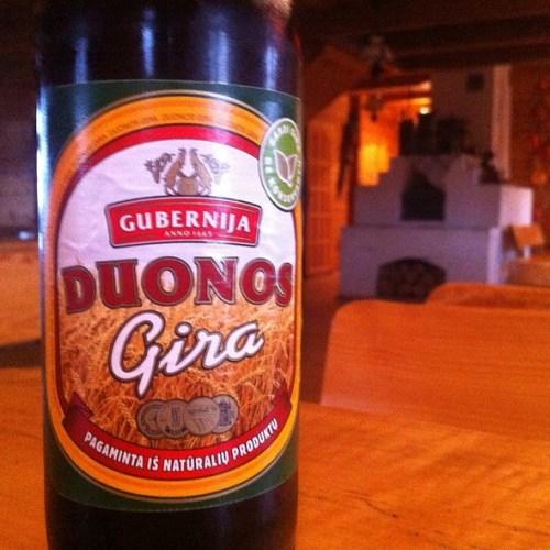 Pyszny kwas chlebowy Gubernija - Duonos Gira