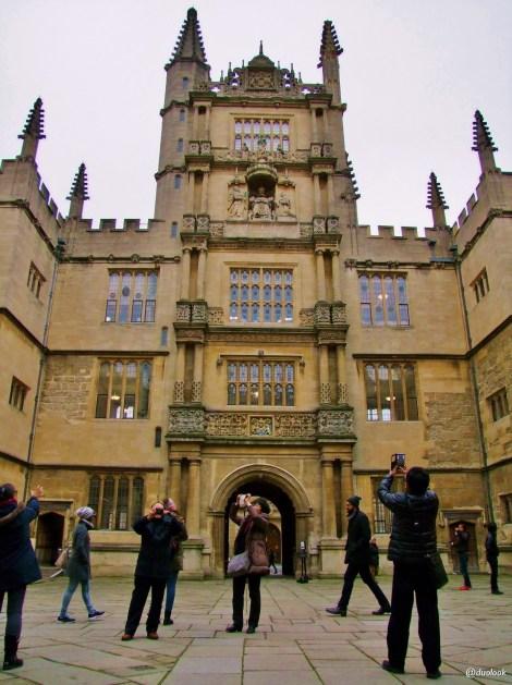 Bodleian Library biblioteka oksford atrakcje anglia