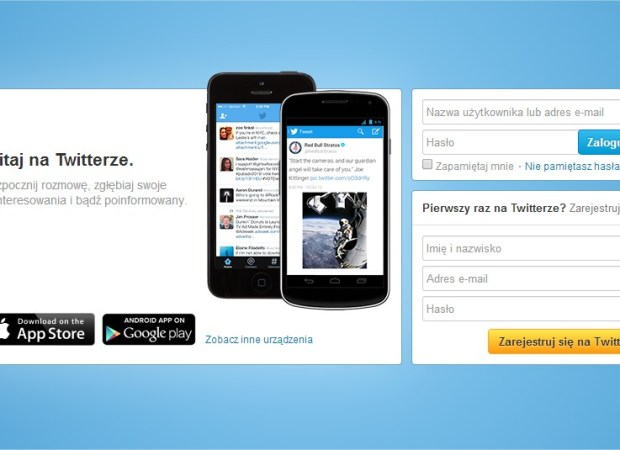 rejestracja na twitterze konto tweetowanie jak o co chodzi twitter