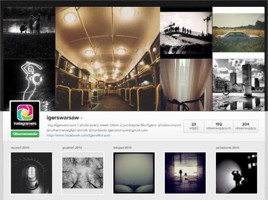 Warszawa IgersWarsaw Instagram