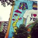 Zamelduj się na Zaspie i oglądaj murale w Gdańsku
