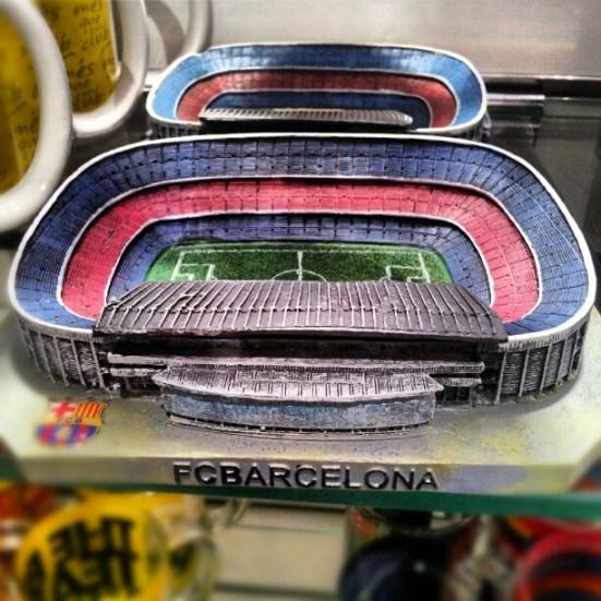 Pamiątka z Barcelony - Stadion Camp Nou