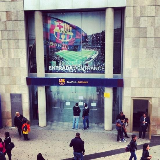 Muzem Camp Nou w Barcelonie nazywa się CampNou Experience