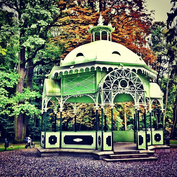 Altana muzyczna w prudnickim Parku Miejskim