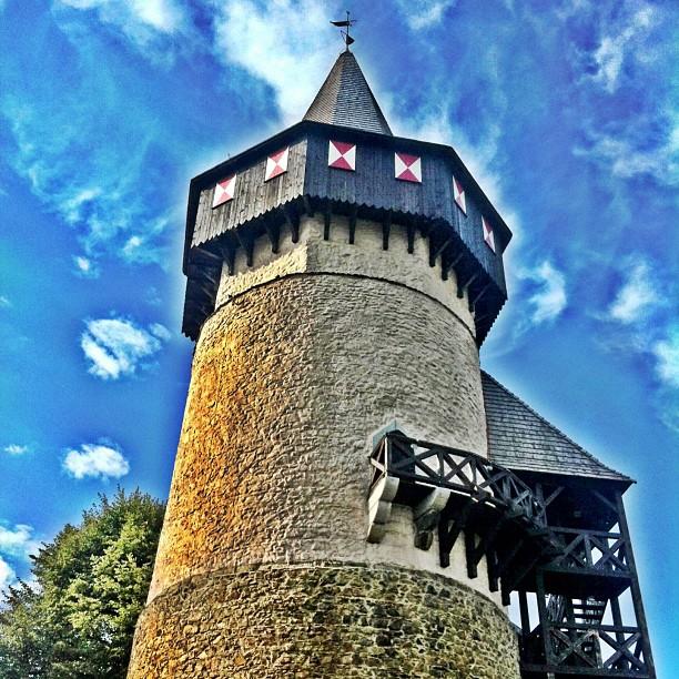 Prudnik Wieża Woka - najstarsza prywatna wieża zamkowa w Polsce