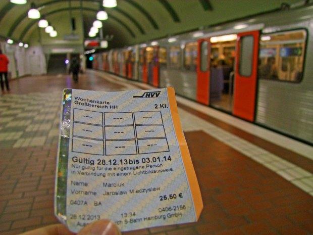 Hamburg bilety komunikacja