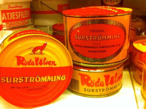 Surströmming kupiony w Szwecji