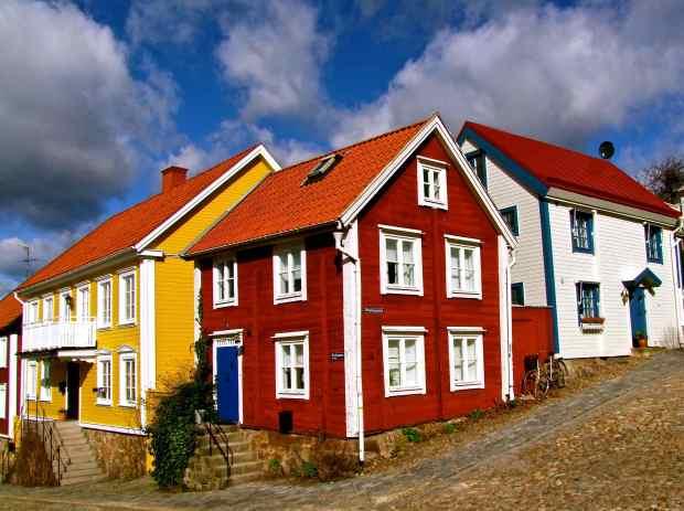 Domy w Szwecji z drewna