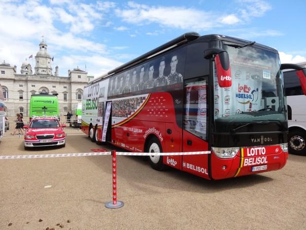 london-tour-de-france-bus-team-Lotto-Belisol-social-media-instagram-rowery-autobus-druzyny