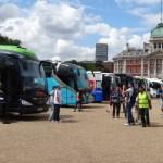 Autobusy zespołów Tour de France 2014