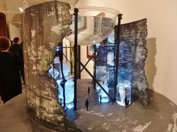 london-art-biennale-chelsea-alice-helps-thames-tunnel-shaft