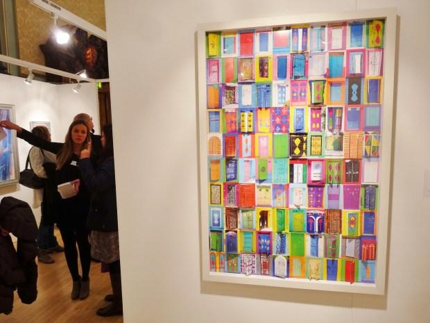london-art-biennale-chelsea-khaled-abdul-dahab-doors