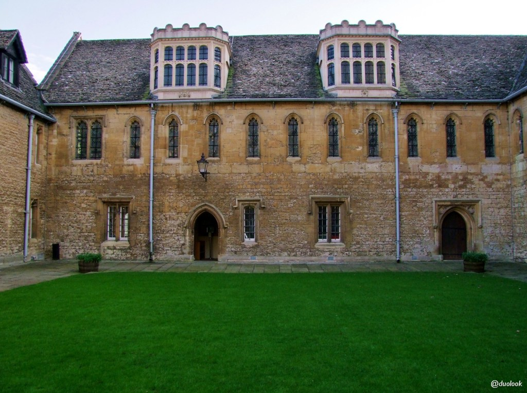 merton college oksford architektura gotyk angielski