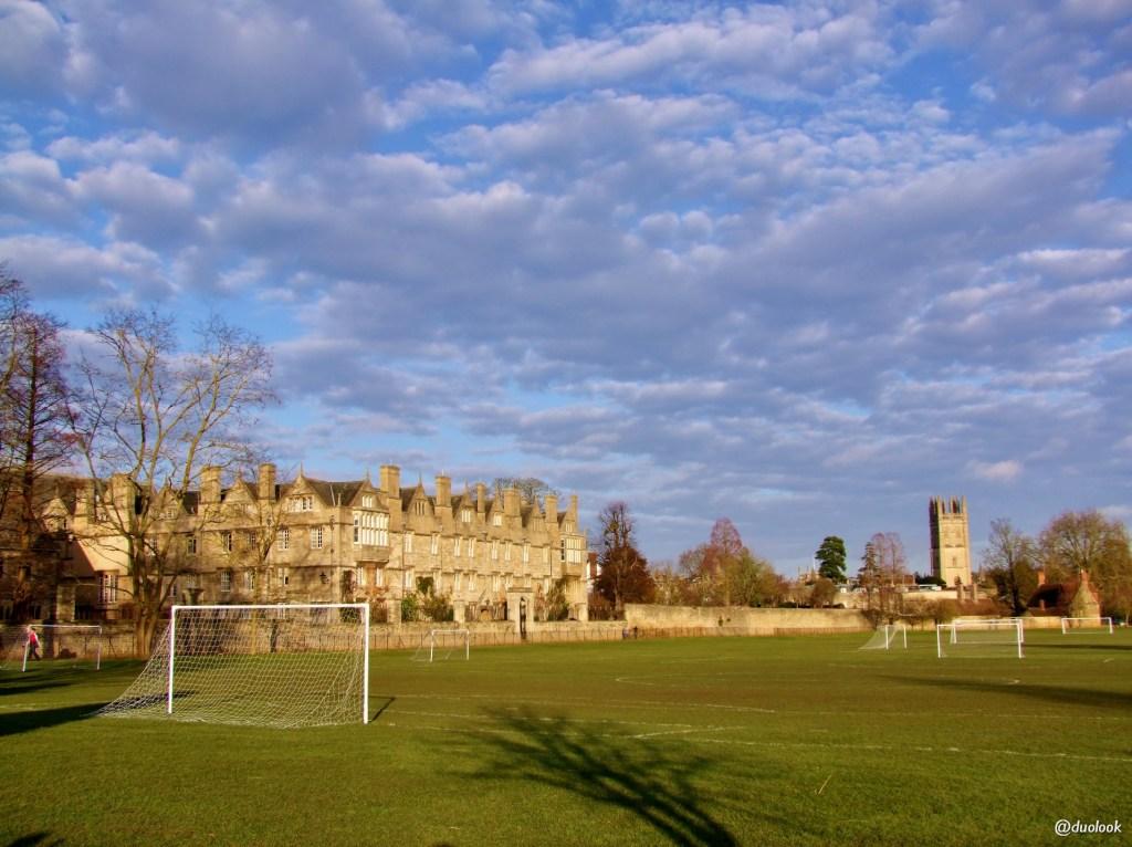 parki w Oksfordzie