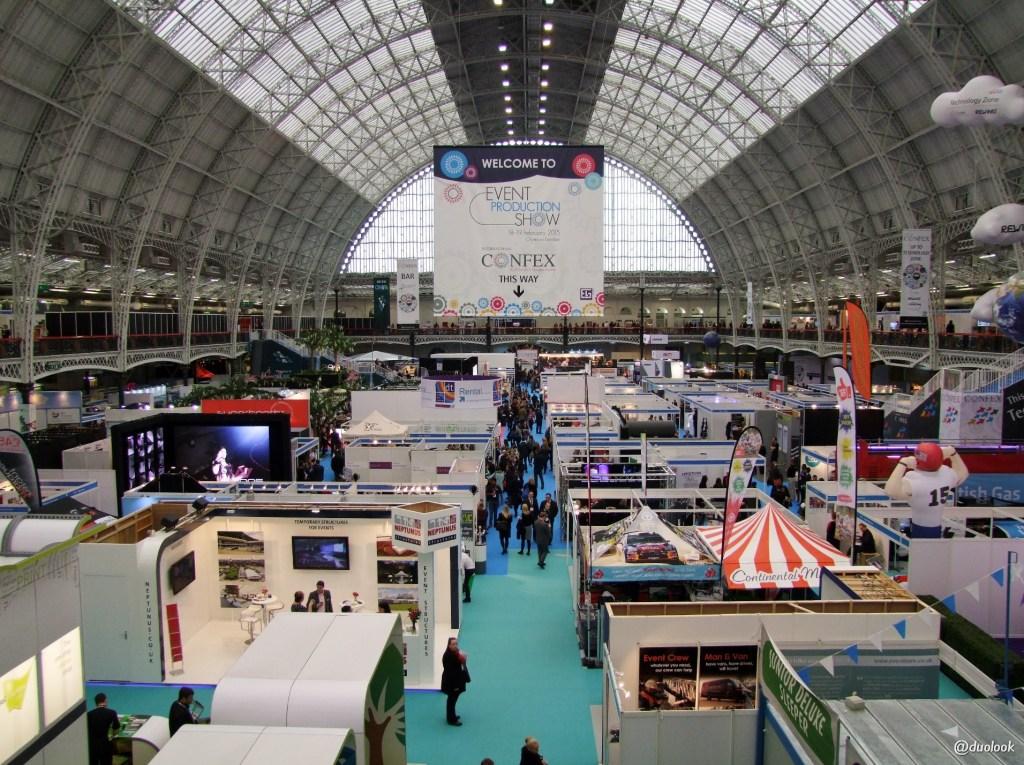 confex targi w Londynie olympia kensington turystyka biznesowa eventprofs