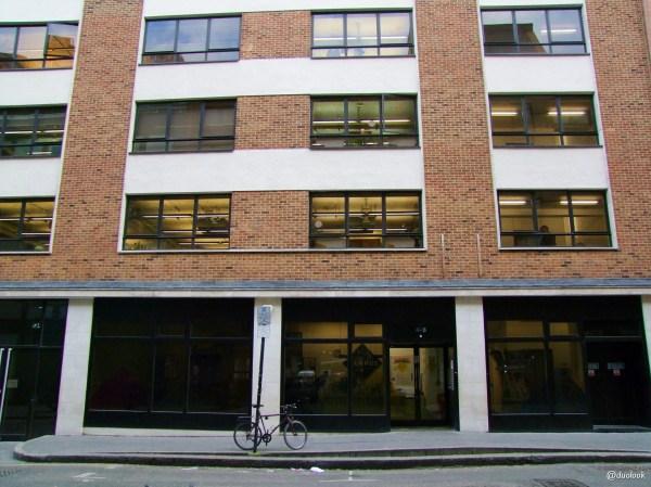 Campus Google w Londynie w dzielnicy Shoreditch