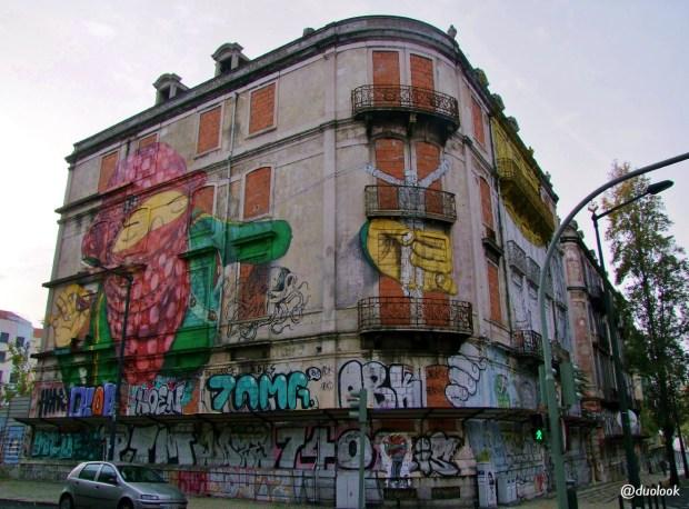 Murale w Lizbonie