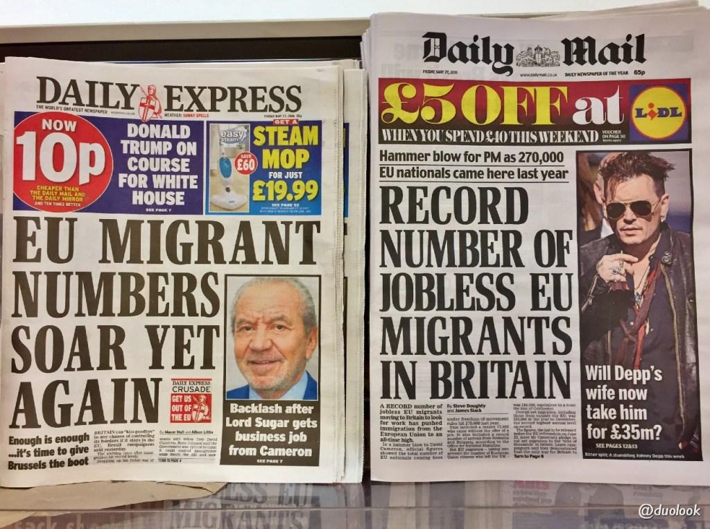 Polacy w Wielkiej Brytanii BREXIT