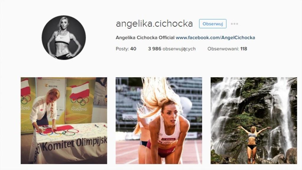 Angelika Cichocka instagram