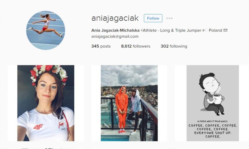 Ania Jagaciak Instagram