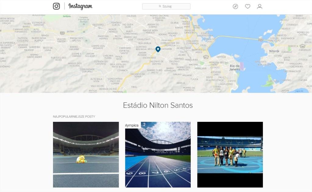 Instagram wyszukiwanie zdjęć lokalizacja