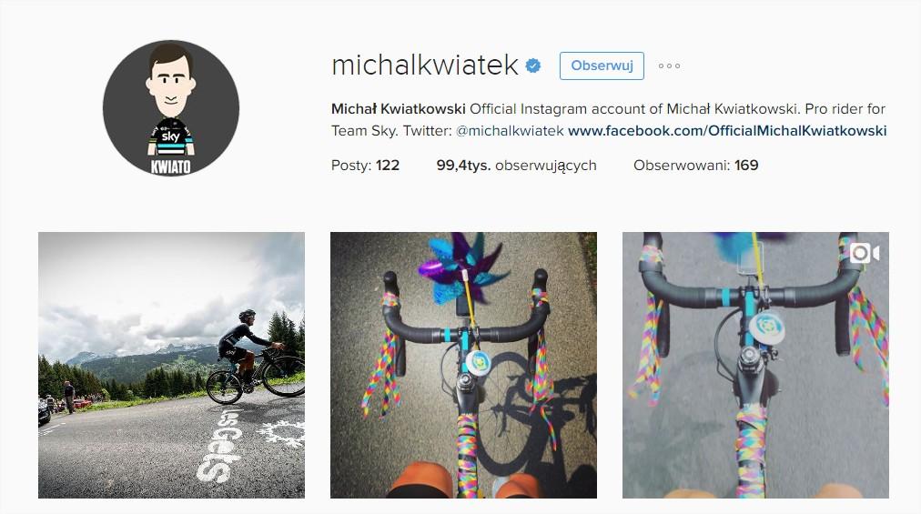 michal kwiatkowski instagram kwiatek