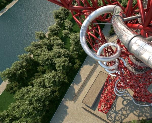 zjezdzalnia ArcelorMittal Orbit londyn stratford