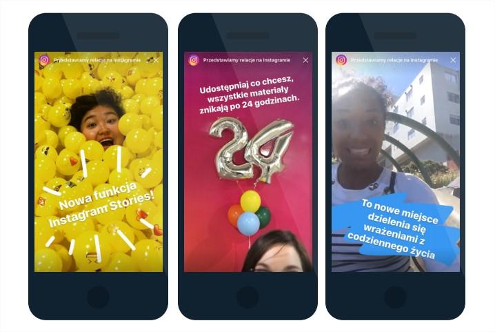 Instagram Stories jak to działa