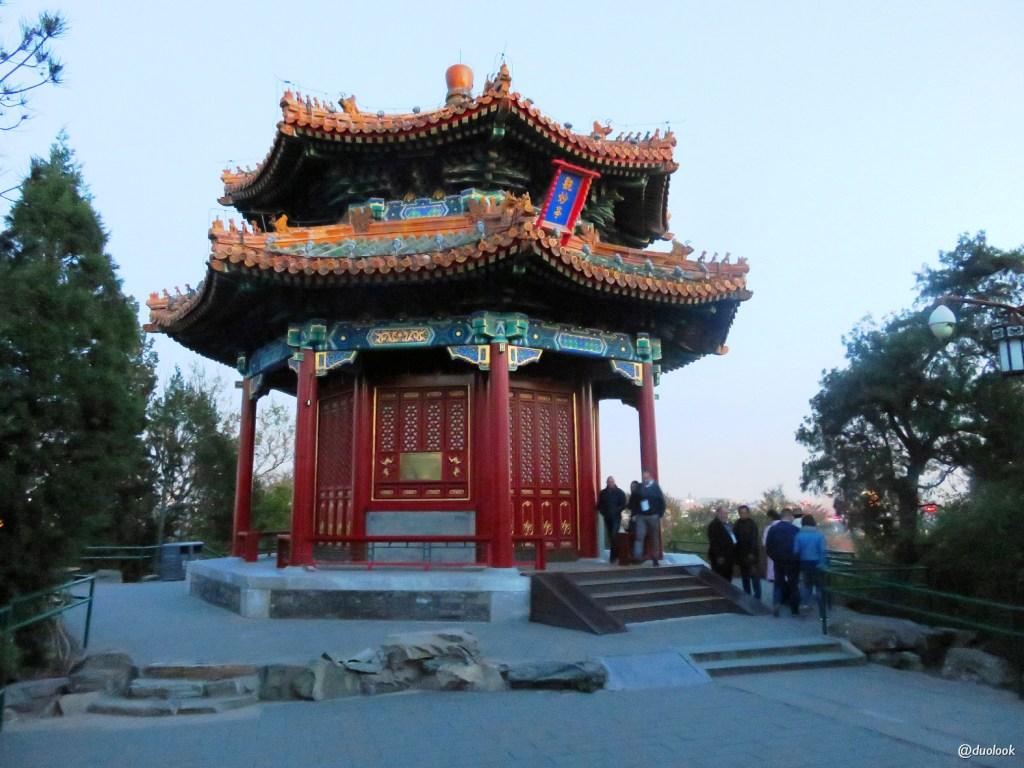 najpiękniejsze parki w Pekinie Jingshan Park