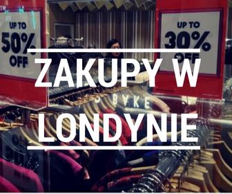 Gdzie na zakupy w Londynie