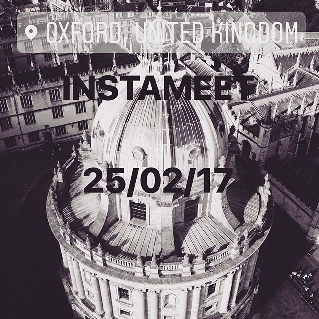 Instameet IgersOxford Instagramers Oxford