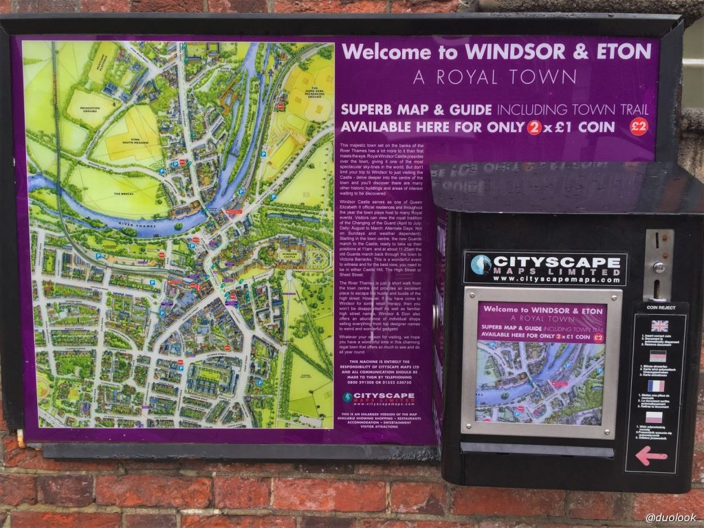 Mapa Atrakcje Windsor