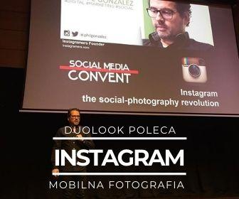 Mobilna fotografia aplikacja Instagram