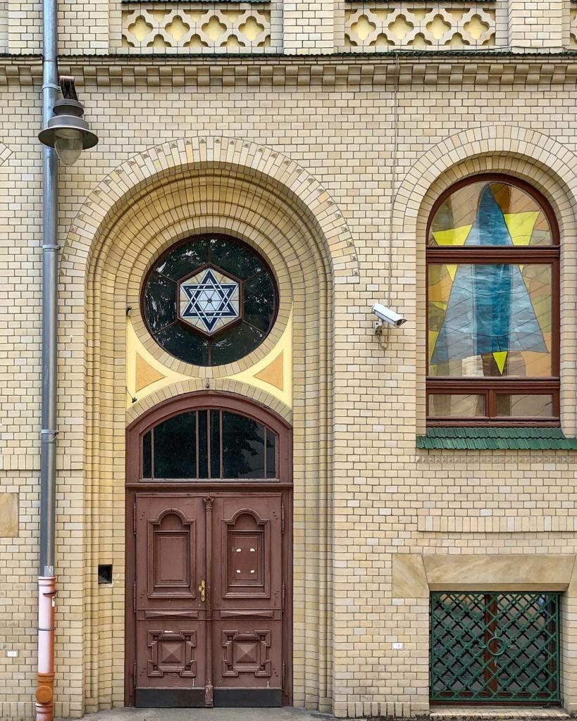 Dzielnica Czterech Wyznań synagoga we Wrocławiu