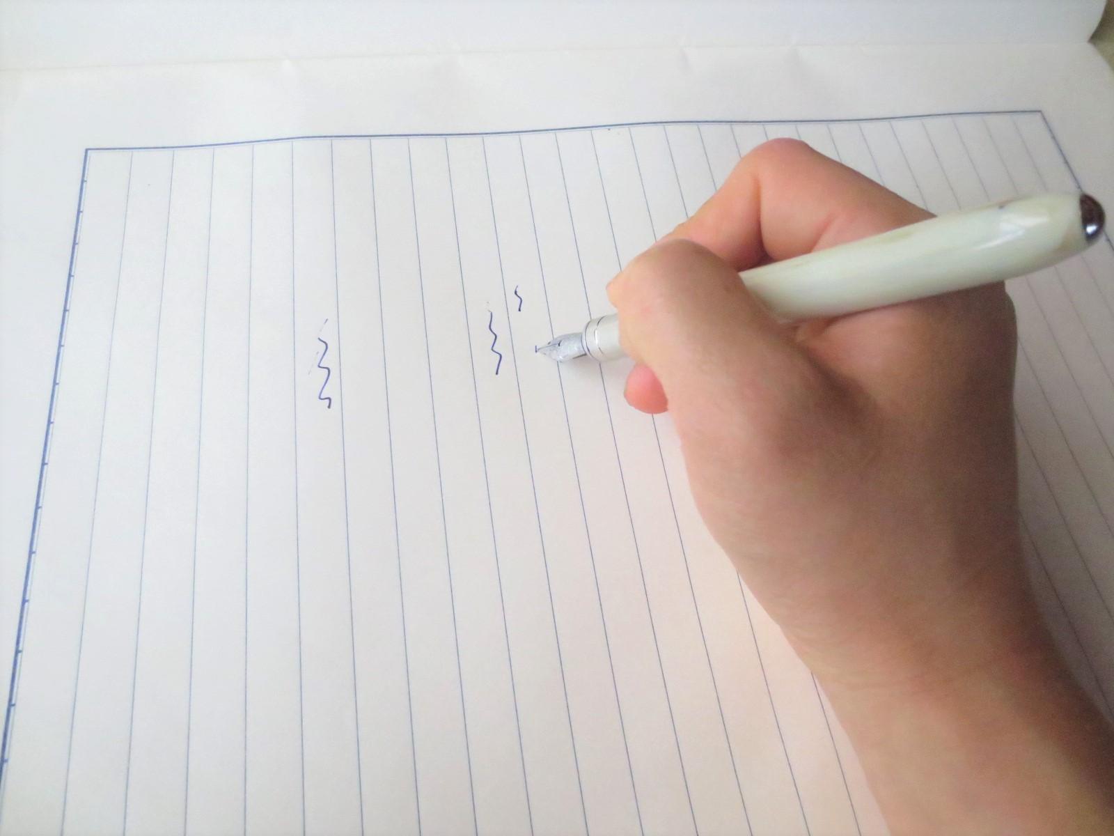 「万年筆からインクが出ない、かすれる。故障かな?」と思ったらまず確認すること【トラブルシューティング】