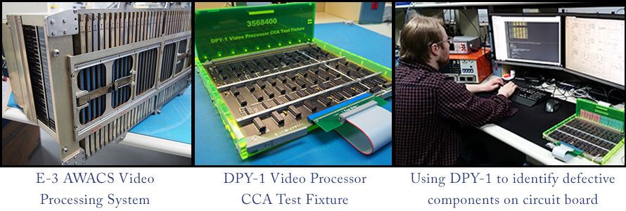 awacs video processor cca test fixture