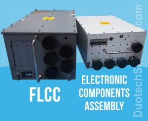 flcc and electronics components assembly